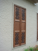 Decorative Wood Shutters and Doors