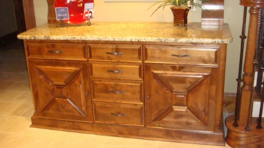 Custom Crafted Wood Cabinets