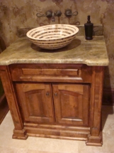Unique Sinks and Bathroom Cabinets
