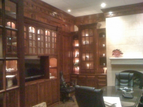 Custom Office and Library Cabinets