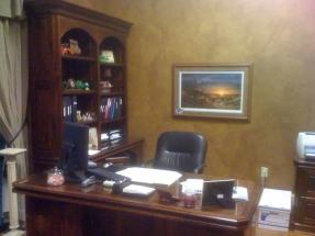 Custom Office Cabinets