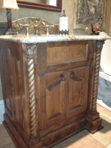 Custom Sinks With Cabinets