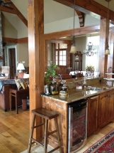 Custom Wood Trim and Cabinets