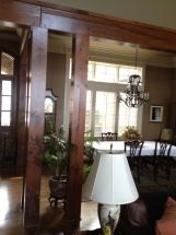 Custom Wood Trim and Columns