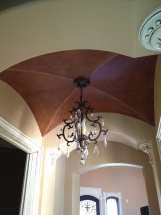 Double Arched Recessed Ceiling
