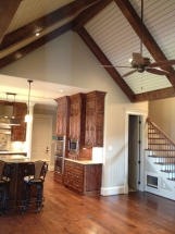 Custom Ceiling and Cabinets